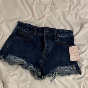 Brand New Free People Denim Shorts